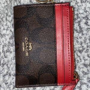 coach coin purse / keychain